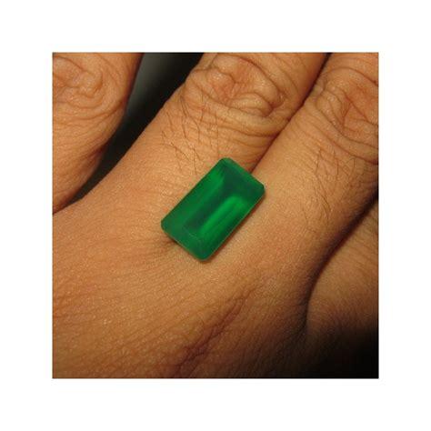 Batu Cincin Chrysoprase 6 batu akik chrysoprase rectangular 6 47 carat ada memo keaslian