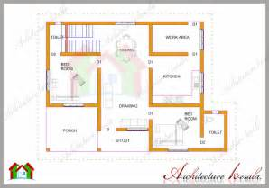 1200 Square Feet Two Bedroom House Plan And Elevation House Plan For 1200 Sq Ft Kerala Style