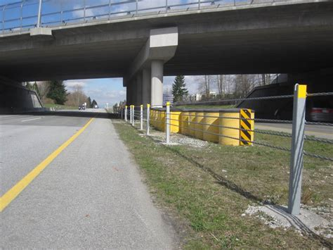 3 types of barriers you will find on bc highways tranbc