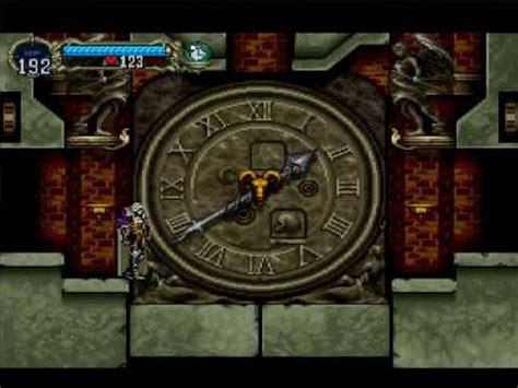 castlevania symphony of the clock room castlevania sotn marble gallery clock tower bonus room