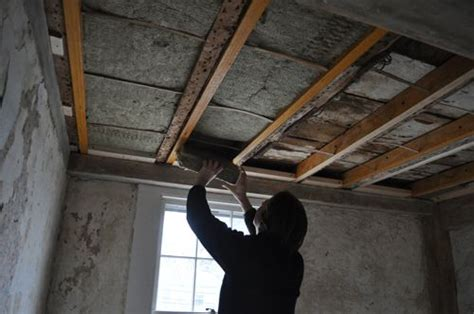 Over The Weekend We Installed Soundproofing Insulation Soundproof Ceiling Insulation