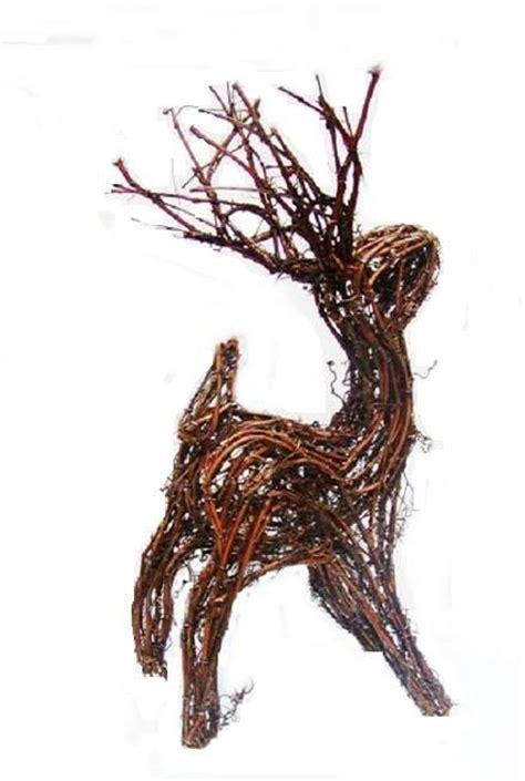 grapevine reindeer carft pinterest