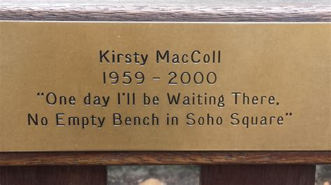 memorial bench plaques sayings no empty bench in soho square another kind of mind