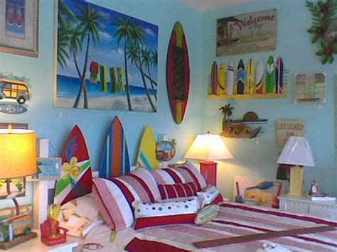 beach theme bedroom decor decoration colorful beach house decorating ideas beach