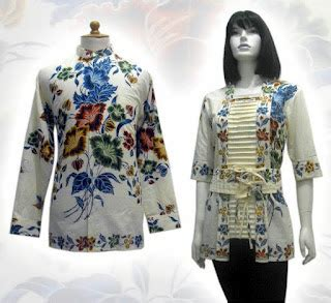 Pakaian Batik Pria Terbaru Seragam Batik Motif Asmat model baju batik modern terbaru 2014 pria dan wanita