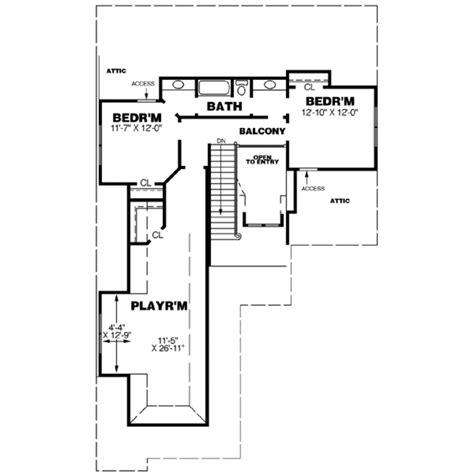 back bathroom floor plan revisions dscn home creative european style house plan 3 beds 2 5 baths 2687 sq ft