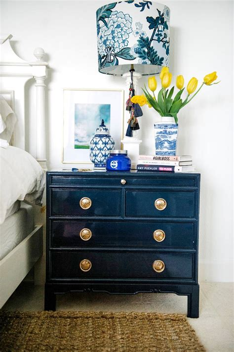 Navy Blue Bedside Ls Best 25 Bedside Tables Ideas On Table