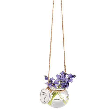 Glass Hanging Vases by Hanging Glass Posy Vase Dotcomgiftshop