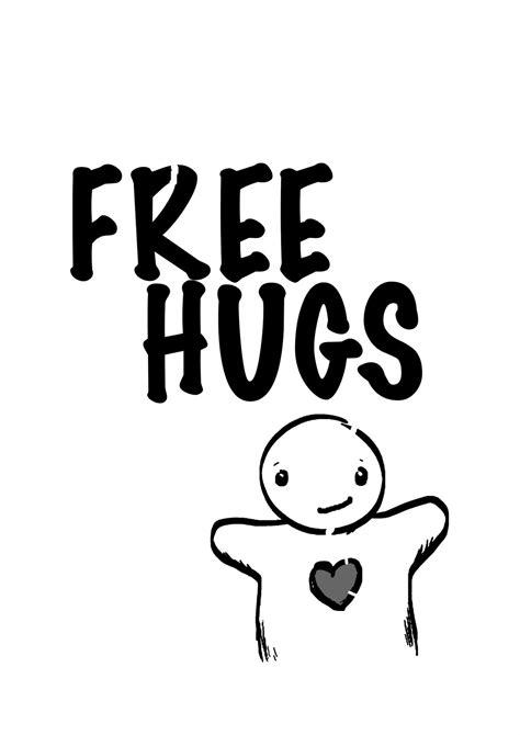 Free Hugs Ukuran L 1 l2