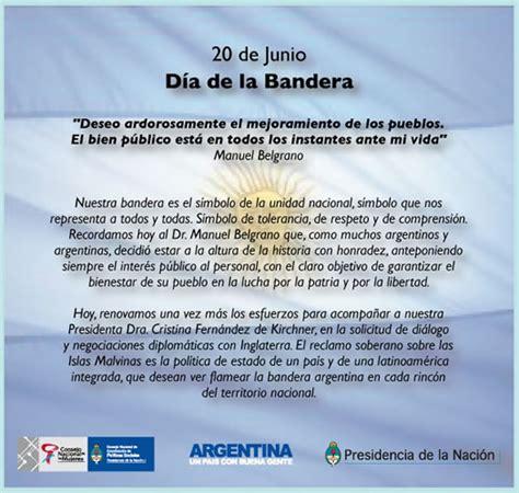 palabras alusivas para el dia de la bandera argentina frases del dia de la bandera argentina en imagenes frases
