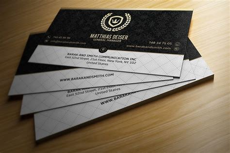 Gold And Black Business Card Business Card Templates Creative Market Black And Gold Business Card Template