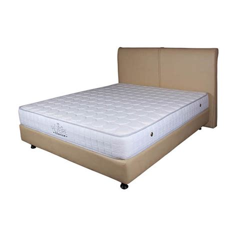 Springbed The Luxe Mattress Reveire Titanium 180x200 Jual The Luxe Mattress Reveire Titanium Complete Set White 180x200 Jd Id