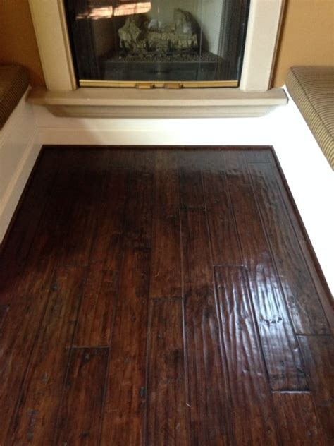 distresses engineered hardwood floor installed