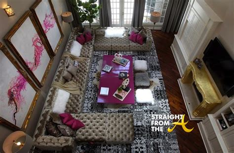 kandi burruss house a peek inside kandi burruss atlanta home photos