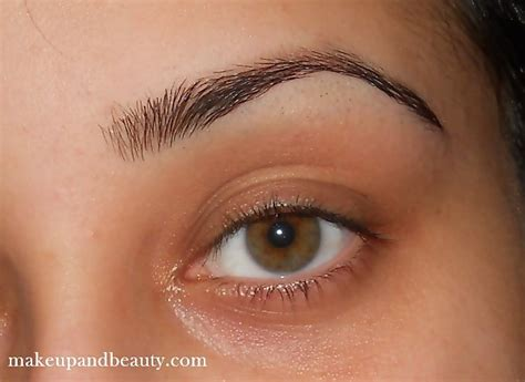 elf eye brow kit for black hair tutorial for perfect eyebrows indian makeup and beauty blog