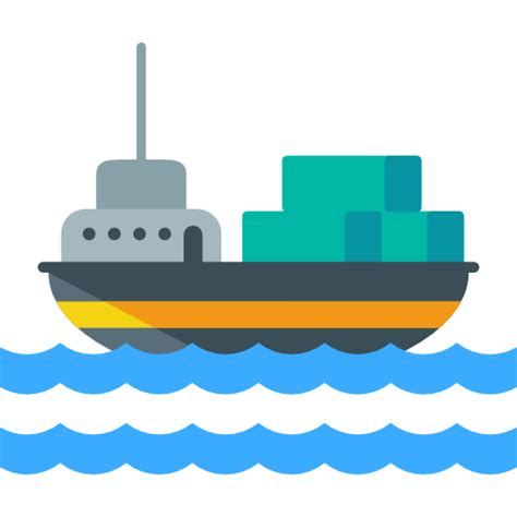 ship icon cargo ship free transport icons