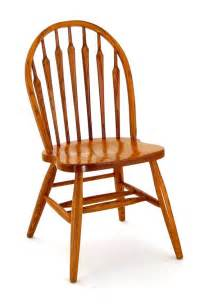 Windsor Dining Room Chairs by Amish Carolina Oak Wood Windsor Chair