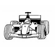 Disegno Di Auto F1 Da Colorare  Acolorecom