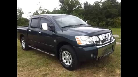 how to work on cars 2004 nissan titan navigation system sold 2004 nissan titan le crew cab 4x4 off road 5 6 endurance v 8 for sale call 888 439 8045
