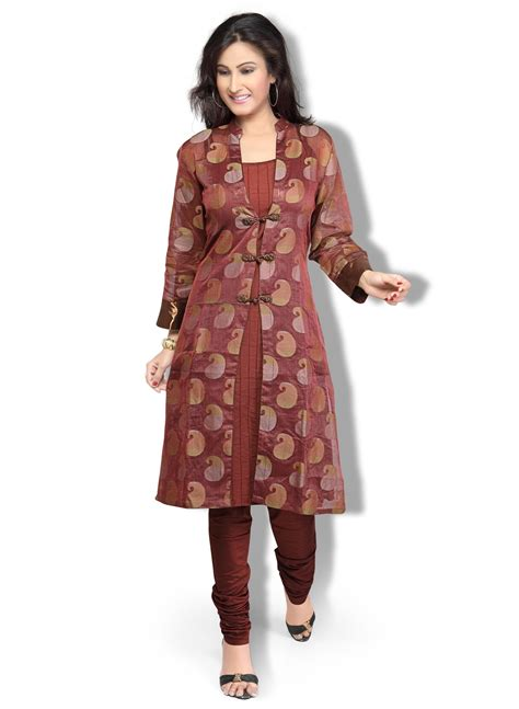 jacket pattern kurti images latest top 10 designer jacket style kurti designer saree
