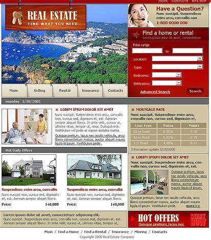 buying house website template house website template best website templates