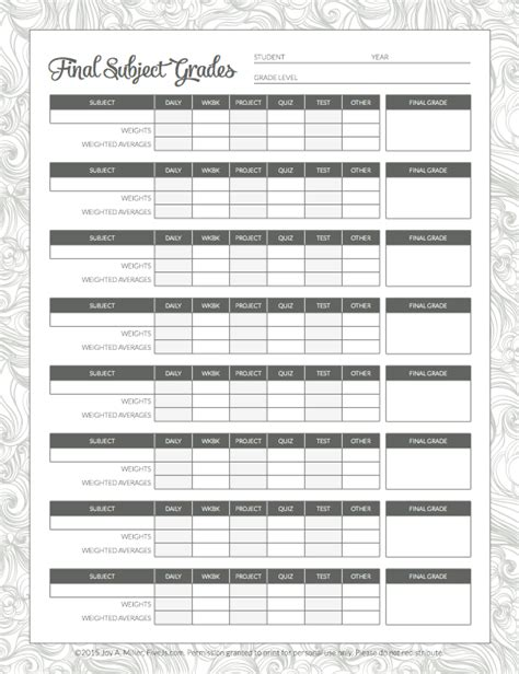 printable homeschool planner pages free 2016 2017 printable homeschool planner five j s