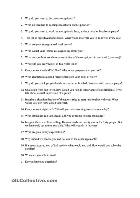 Receptionist Questions by 85 Best Work Images On Activities For Baby Crafts And Preschool