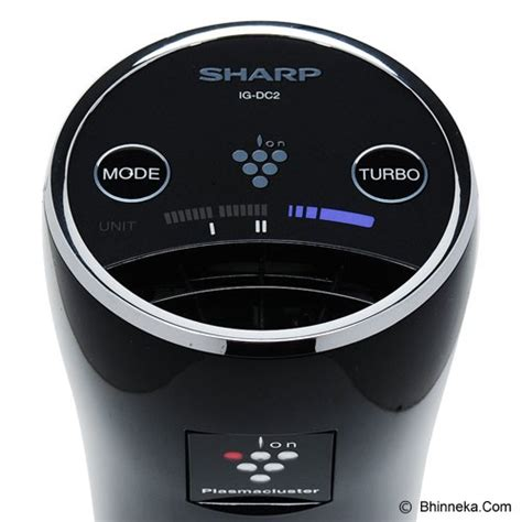 Sharp Ig Dc2y B Car Air Purifier Black jual sharp air purifier ig dc2y b black murah
