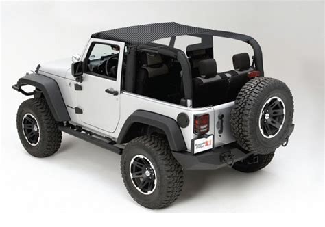 Jeep Mesh Top All Things Jeep Mesh Summer Brief Top For Jeep Wrangler