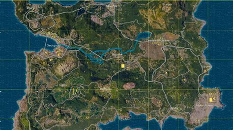 playerunknowns battlegrounds map guide find