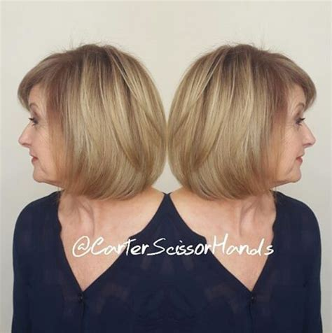 bob haircuts with bangs for women over 50 the best hairstyles for women over 50 80 flattering cuts