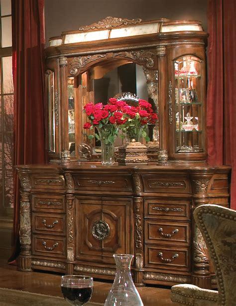 villa valencia bedroom set michael amini classic chestnut villa valencia traditional