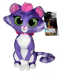 puppy pals stuffed animals puppy pals plush hissy cat disney store authentic us seller nwt ebay