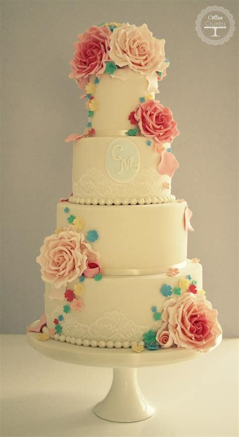 Wedding Cake Floral by Floral Wedding Cake Moor Sutton Coldfield 1930638