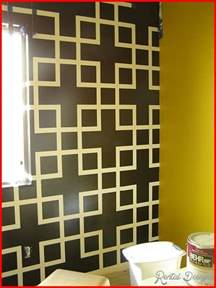 wall paint design ideas with tape home designs home