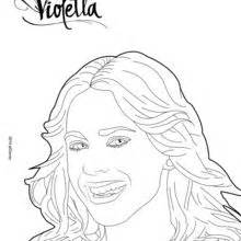 coloring pages disney violetta violetta 7 free disney printables for to color