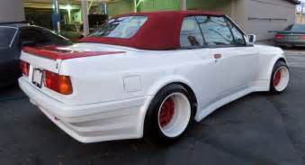 Bmw 325 I This 1987 Bmw 325i Convertible Looks Like A Guppy