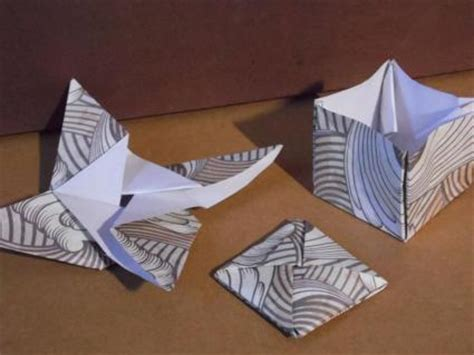 Origami Magic Trick - 3 simple origami projects lovetoknow