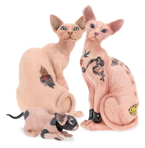 hairless cat tattoo cool or cruel style made me do it