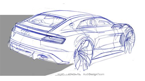 quattro sketchbook audi sport quattro concept design sketch car design