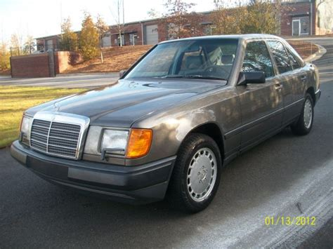 mercedes 300e 1986 mercedes 300e extraordinarily clean everyday