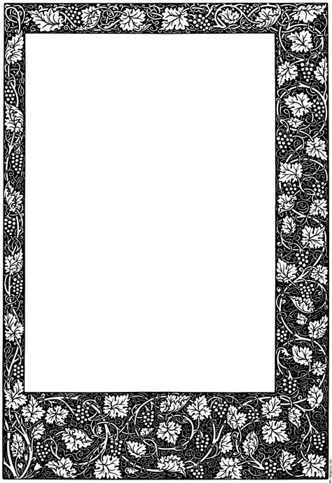 Decorative Page Borders by Decorative Page Border Clipart Best