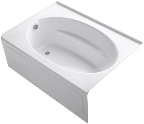 kohler corner bathtub kohler left drain corner bathtub
