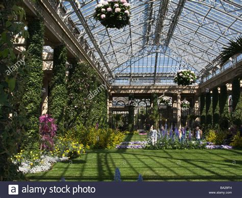 Botanical Gardens Pa Conservatory Longwood Botanical Gardens Kennett Square Chester County Stock Photo 23408325 Alamy