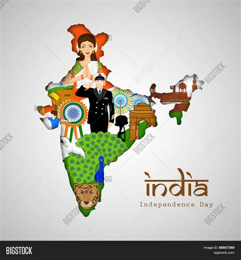 introduction to india culture and traditions of india india guide book books india glance republic india map vector photo bigstock
