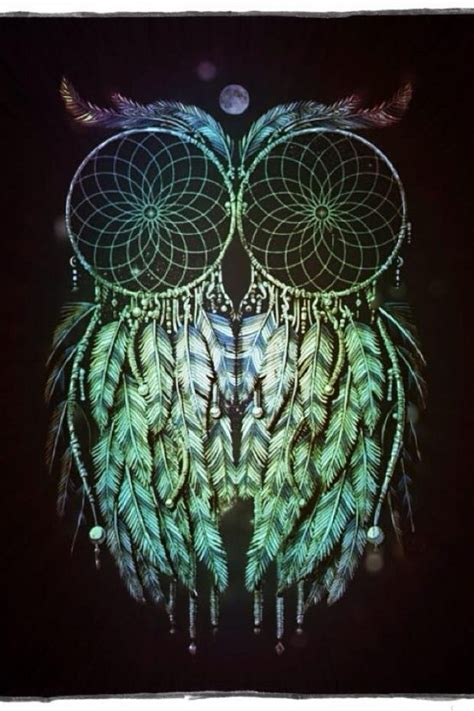 wallpaper for iphone 5 owl download owl dreamcatcher wallpapers to your cell phone