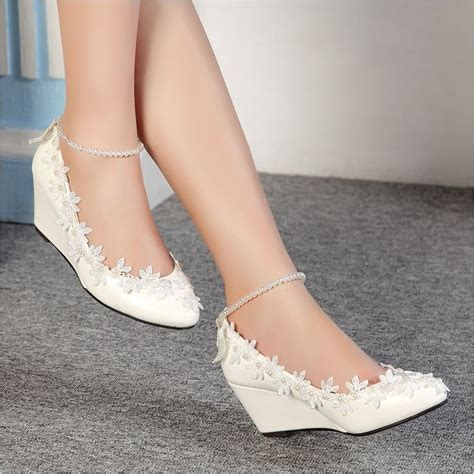 Cd Wedges Viva Pretty best 25 wedge wedding shoes ideas on bridal wedges lace wedding shoes and wedding