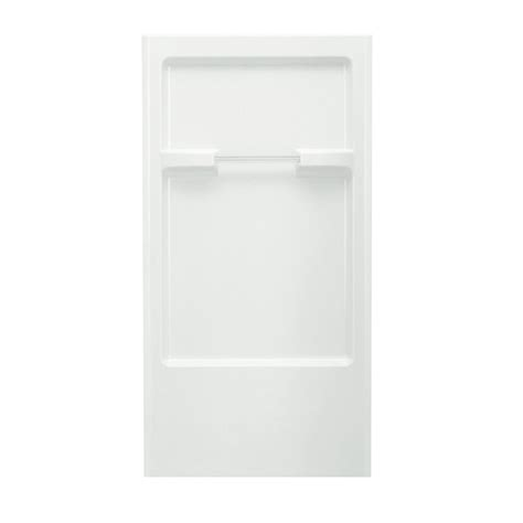 Sterling Shower Surrounds by Shop Sterling Shower Wall Surround Back Panel Common 32