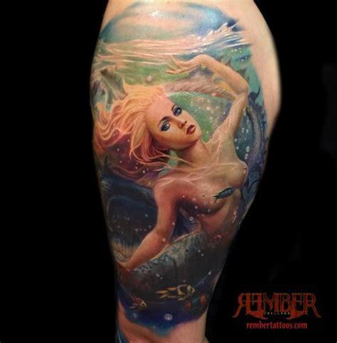 full body mermaid tattoo rember tattoos tattoos rember mermaid fantasy in