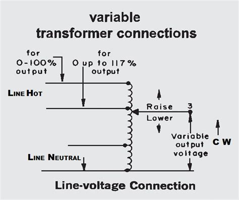 powerstat variable autotransformer wiring diagram